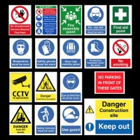 health and safety decals